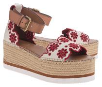 Wedge-Sandale