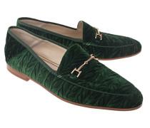Samt-Loafer