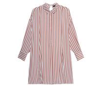 Gestreifte Oversize-Bluse