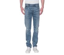 Slim-Fit Jeans im Vintage-Look