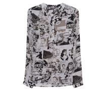 Bluse im Comic-Design
