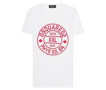 Baumwoll-T-Shirt with Logo Print