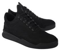 Flache Leder-Sneaker
