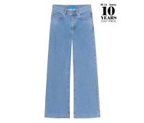 Weite Flare Leg Jeans