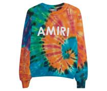 Sweatshirt im Batik-Design