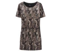 Mini-Kleid mit Pailletten-Verzierung