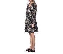 Kleid mit Blumen-Muster