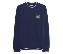 Sweater mit Logo-Bestickung