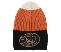 Woll-Mütze mit Logo-Emblem
