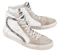 Veloursleder-High-Top Sneaker