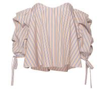 Schulterfreie Baumwoll-Bluse