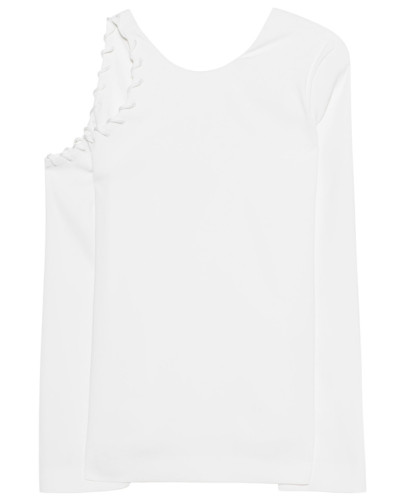 Langarm-Top mit Cut-Out