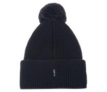 Woll-Mütze mit Bommel