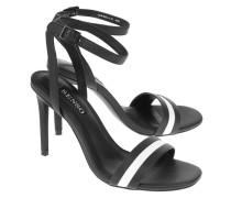 Leder-High-Heels