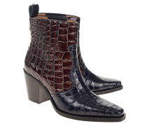 Lackleder-Boots im Western Style