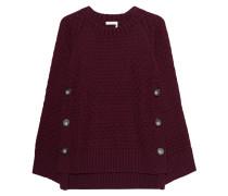 Pullover mit seitlichen Knöpfen