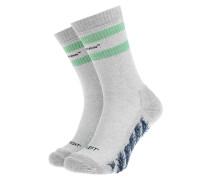 Socken mit Label-Schriftzug