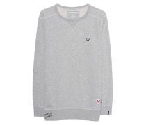 Sweatshirt mit Label-Emblem