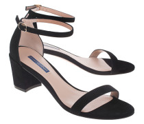 Wildleder-Sandalette