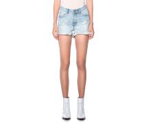 High Waist Destroyed Shorts