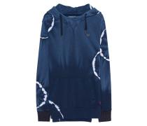 Hoodie im Batik-Design