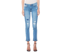 Washed Out Skinny Jeans