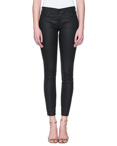 Skinny-Jeans mit Beschichtung