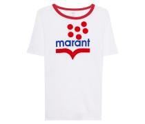 T-Shirt mit seitlichen Schlitz