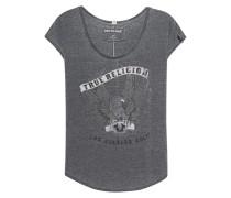 T-Shirt mit Strassstein-Besatz