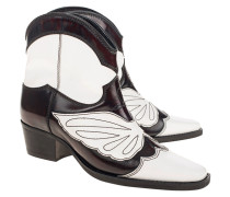Leder-Cowboy-Boots