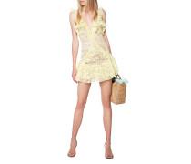 Mini-Kleid mit Spitze