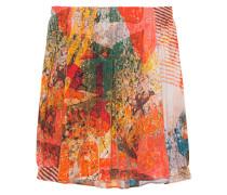 Off-Shoulder Seiden-Stretch Bluse