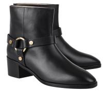 Glattleder-Boots