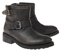 Stone Washed Leder-Boots