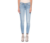 Mid-Rise Crop Skinny Jeans