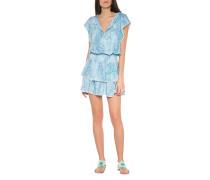 Mini-Kleid mit Paisley-Muster