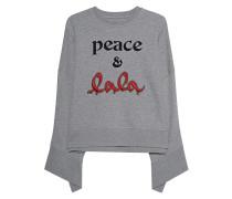 Sweatshirt mit asymmetrischen Ärmeln