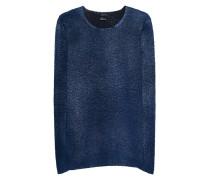 Acid Wash Woll-Kaschmir Pullover