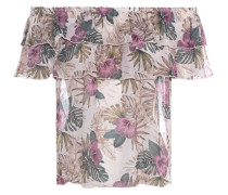 Florale Off-Shoulder Bluse