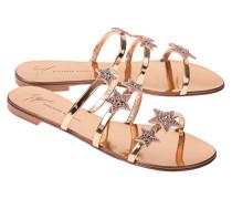 Sandale mit Sternen