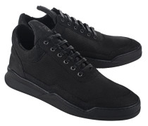 Sneakers aus Nubukleder  // Low Top Ghost All Black