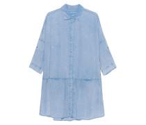 Jeanskleid im Acid-Washed Stil