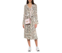 Maxi-Kleid mit Mosaik-Print
