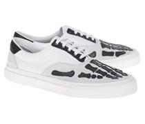 Leder-Slip-On Sneaker