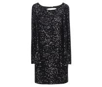 Pailletten-Kleid mit Rückenausschnitt