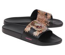 Slides mit Animal Print