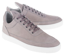 Low-Top Nubukleder-Sneakers  // Low Top Lane Matt Nubuck Light Grey