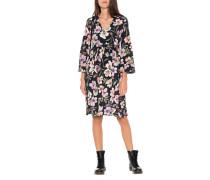 Florales Midi-Kleid