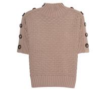 Kurzarm-Pullover mit Knöpfen