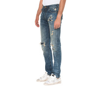 Straight Destroyed Jeans